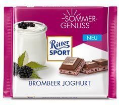 RITTER SPORT Sommersorte Brombeer Joghurt (2016)
