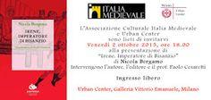 """MedioEvo Weblog: """"Irene, Imperatore di Bisanzio"""", presentazione a Milano"""