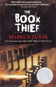 the book thief by markus zusak - This has been on my to-read shelf for ages.