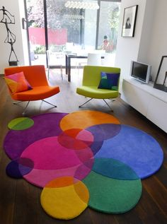 ~LOVE this rug! Super fun!!~ Bubbles Square