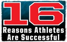 Hey athletes, guess what?! You're going to be successful!