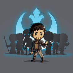 Captain Cassian Andor - This official Star Wars t-shirt featuring Cassian Andor is only available at TeeTurtle!