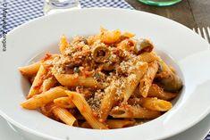Tuna, Olive and Caper Pasta with Garlic Breadcrumbs