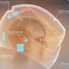 A #Russian company looks to bring built-in navigation and augmented reality to #motorbike #helmets. Think #Google #Glass in #helmet form. #GoogleGlass #Tech #Gadgets
