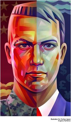 Fascinating Portrait Illustrations by Evgeny Parfenov  #digitalart #illustration #EvgenyParfenov #portraitillustration