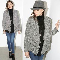 Karen Kane Frayed edge jacket