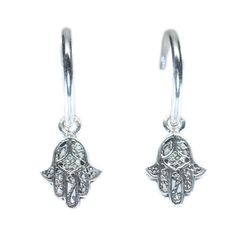 Casey Hamsa Hand, Hand of Fatima Hoop Earrings (940 PHP) ❤ liked on Polyvore featuring jewelry, earrings, hamsa hand earrings, hamsa earrings, hamsa jewelry, hamsa hand jewelry and hoop earrings