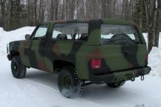 M1009 Blazer for Sale | The M1009 CUCV - A Manly, Eco-Conscious, Military Rejected Survivalist ...