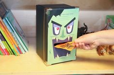Make an angry eater monster - - Educational Crafts, Educational Technology, Leadership Lessons, Kids Education, Education Positive, Diy Toys, Kids And Parenting, Diy For Kids, Activities For Kids