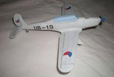 Avia C.2B/Arado Ar 96B Ver.2 Free Aircraft Paper Model Download - http://www.papercraftsquare.com/avia-c-2barado-ar-96b-ver-2-free-aircraft-paper-model-download.html#150, #AircraftPaperModel, #Ar96, #Arado, #AradoAr96, #AradoAr96B, #Avia, #AviaC2B