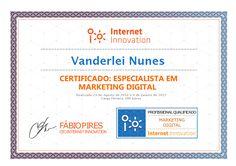 Internet Innovation :: Especialista em Marketing Digital   E-Learning*
