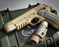 Semper Fi: Colt M45A1 CQBP Marine Pistol
