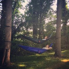 This is the life... ↟◡↟#grandtrunk #camping #hammockladder