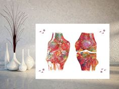 Knee anatomy watercolor print knee joints medical art knee ligaments and tendons poster orthopedic surgery the human knee anatomy art print Watercolor Print, Watercolor Paper, Human Knee, Ligaments And Tendons, Medical Art, Diy Headboards, Anatomy Art, Pigment Ink, All Print
