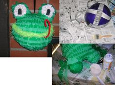 Cool DIY frog pinata
