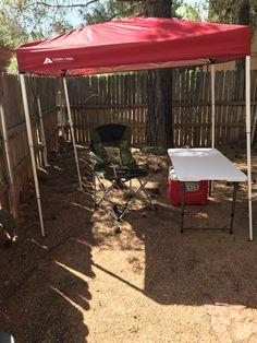 Ozark Trail 4x6 Canopy I Did A 2 Man Job With Just Me A
