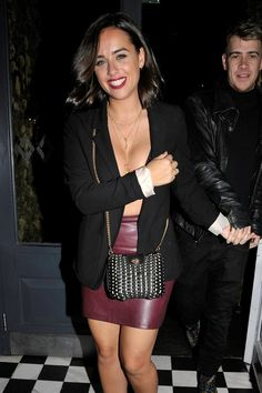 Georgia May Foote pictured for the first time with new boyfriend Kris Evans in Manchester Georgia May Foote Instagram, Georgia Mae, New Boyfriend, Leather Mini Skirts, Celebs, Celebrities, Beautiful Actresses, Sexy Outfits, Manchester