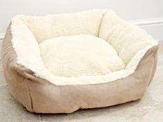 Merino Wool Dog Bed