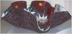 Christmas Sale Poinsettias Hand Painted by ButtercupsWhatEvas