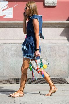 72 summer outfit ideas spotted at Milan Menswear Fashion Week: Anna Dello Russo