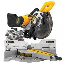 DEWALT Dual Bevel Sliding Compound Miter Saw at Lowe's. The double-bevel sliding compound miter saw has an exclusive bevel detent system with seven positive stops to deliver fast accurate repeatable Sliding Mitre Saw, Sliding Compound Miter Saw, Compound Mitre Saw, Table Saw, A Table, Cierra Circular, Miter Saw Reviews, Dewalt Power Tools, Best Circular Saw