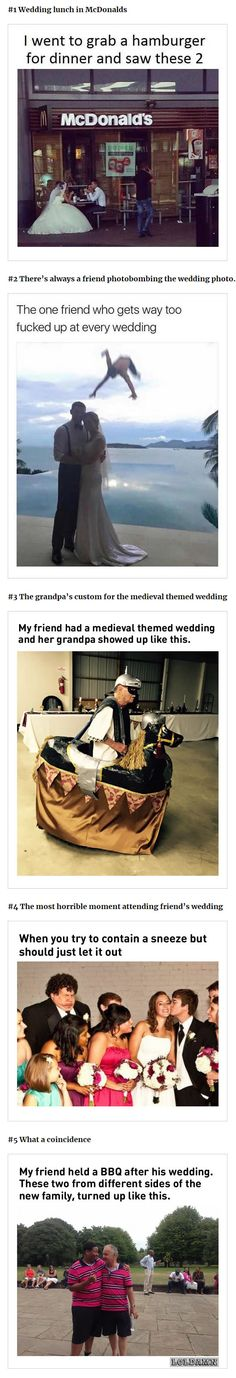 First one is adorable. I wish for that to be my wedding day