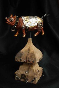 steampunk pig #2