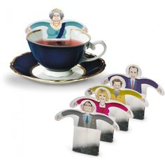 The Royal Family tea bags!