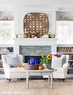 I'm teaming up with a bunch of my favorite bloggers and Good House Keepingto share 15amazingfall home tours and inspiration! All the fun starts with Kelly over at Eclectically Vintage so be sure to start over there so you don't miss a post! And a special welcome to you if you are stopping byfrom Bre's …