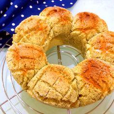 紅茶メロンパンのちぎりパン