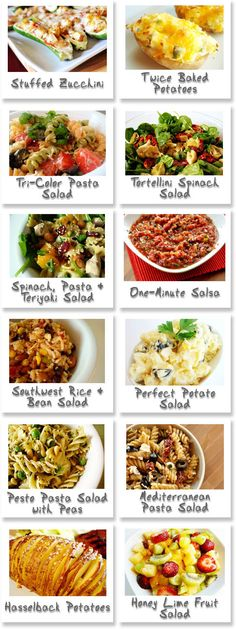 BBQ Make-A-Menu! | Mel's Kitchen Cafe....Salads and some sides