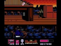 """""""The Punisher"""" by LJN for the Nintendo Entertainment System #NES - Playthrough by F1Rambo"""