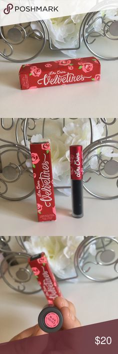 Lime Crime Velveteen • Black Velvet • Authentic  New and unused. I just bought 2 and I don't need both lol.  authentic lime crime Velveteen lipstick Lime Crime Makeup