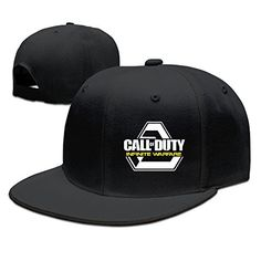 NUBIA Shooting Game Custom Trucker Cap Snapback Flat Bill Cap Black