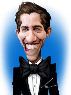 Caricatura-de-Jake-Gyllenhaal.jpg (600×800)