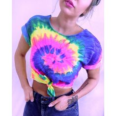 Tie Dye Tshirt Women's Tie Dye Crop Top Tumblr Festival Tie Dyed Shirt ($25) ❤ liked on Polyvore featuring tops, light purple, t-shirts, women's clothing, tye dye shirts, tie front shirt, lavender shirt, tie dye tops and sleeve crop top