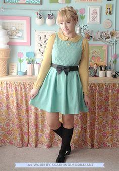 Refine Mint Dress, #ModCloth