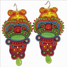 COATLICUE - jako jihoamerické masky :)