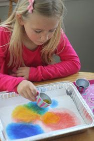 Simple nursery rhyme themed painting activity to go along with I'm a Little Teapot!
