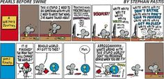 Should anyone bother writing anything ever again? Hell yes! Pearls Before Swine. 20140413.