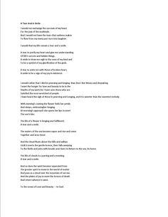 A Tear and a Smile - Kahlil Gibran