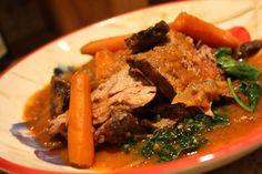 Beef Pot Roast - Against All Grain Beef Pot Roast, Pot Roast Recipes, Slow Cooker Recipes, Wine Recipes, Paleo Recipes, Real Food Recipes, Crockpot Recipes, Against All Grain, Vinaigrette