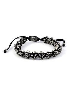 Macrame Bracelet For Women | Womens Black Bracelets - Roses - King Baby