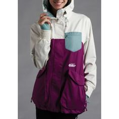 Nike 6.0 Kesak Jacket - Women's - Snow - Clothing - Bold Berry/Snail/Cannon --- I love this