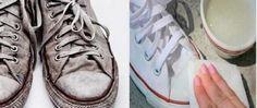 Truque caseiro para limpar seus sapatos e deixá-los como novos em 30 minutos! - http://comosefaz.eu/truque-caseiro-para-limpar-seus-sapatos-e-deixa-los-como-novos-em-30-minutos/
