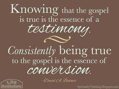 Testimony of The Church of Jesus Christ of Latter Day Saints