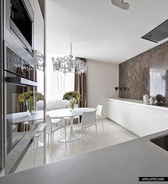 Elegant Apartment Interior in Zelenograd // Alexandra Fedorova | Afflante.com