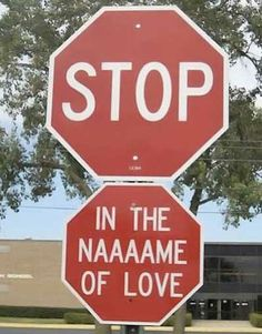 Hahahaha I often sing this in my head when approaching a stop sign