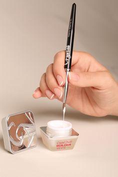 Builder white from Crystal Nails Acrylic Nails, Gel Nails, Nail Products, Crystal Nails, Professional Nails, Nail Technician, Nail Artist, Nail Care, Gel Polish