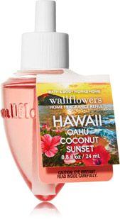Hawaii - Oahu Coconut Sunset Wallflowers Fragrance Refill - Home Fragrance 1037181 - Bath & Body Works